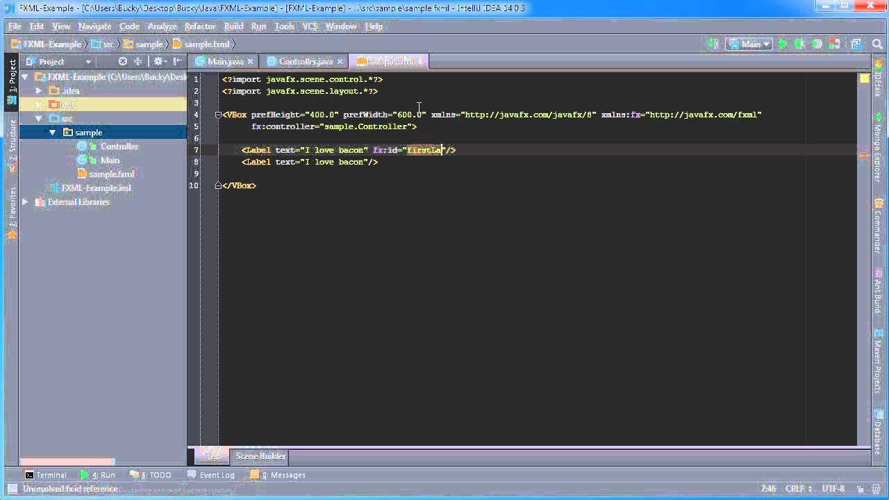 Javafx java gui tutorial 33 initialize binding and reusable javafx java gui tutorial 33 initialize binding and reusable components programmingtunes baditri Choice Image